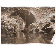 Torc waterfall bridge Poster