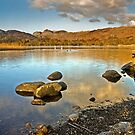 Langdale Pikes from Elterwater by Steve  Liptrot