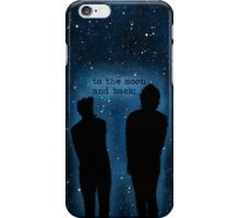 To the moon and back - iPhone Case/Skin