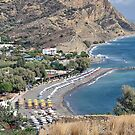 Agia Galini Beach by Teresa Zieba