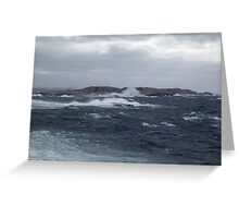 Rock-Bound Coast Greeting Card