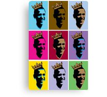 OBAMA WARHOL STYLE Canvas Print