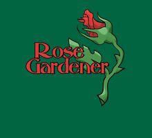 Rose Gardener Womens Fitted T-Shirt
