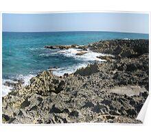 Coast of Cozumel Poster