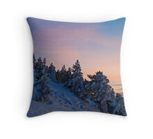Expected Colors Throw Pillow