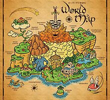World Map  by MeleeNinja