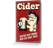 Applejack - Cider Greeting Card