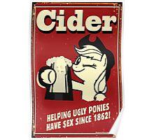 Applejack - Cider Poster