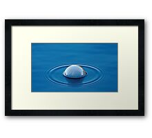 Smoke (Bubble) on the Water Framed Print