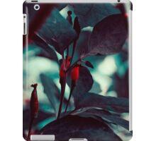 Dark Red iPad Case/Skin