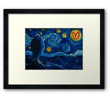 Venture Bros. Starry Night Framed Print