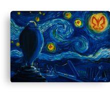 Venture Bros. Starry Night Canvas Print
