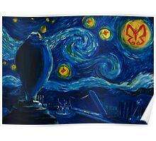 Venture Bros. Starry Night Poster