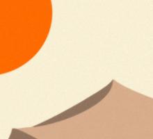 Desert Sun Sticker