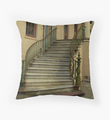 ol'Candler Hospital Stairs Throw Pillow