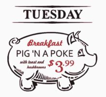 Pig n' a Poke One Piece - Short Sleeve