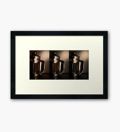 Cafetiere Framed Print
