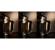Cafetiere Photographic Print