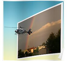 Helicopter, Out of the Box Poster