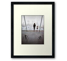 Us and them Framed Print