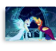 Mlp frozen crossover Canvas Print