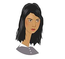 April Ludgate with a really long neck by Florence Kamp