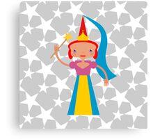 Fairy with magic wand Canvas Print