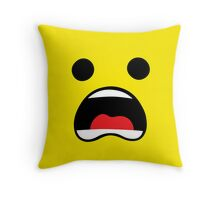 Everything is yellow Throw Pillow