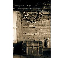 Cabin Wall Photographic Print