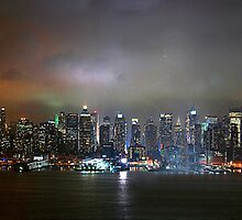 NYC Skyline by Fraser Ross