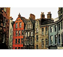 Edinburgh skyline Photographic Print
