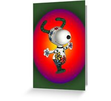 SUMMER-HAPPINES -WITH SNOOPY AND FLOWERS-PICTURE AND OR CARD ECT. Greeting Card