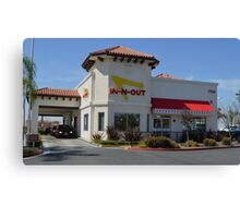 Hungry For A Cheeseburger? Canvas Print