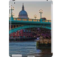 Southwark Bridge, London, England iPad Case/Skin