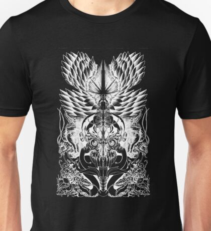 Cryptic(White) Unisex T-Shirt