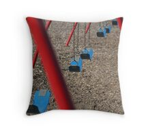 Lonely Playground Throw Pillow