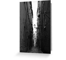 Streets of Alfama Greeting Card