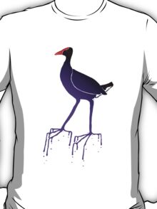 Purple Swamp Hen T-Shirt