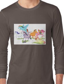 Little Ponies - My Little Pony Long Sleeve T-Shirt