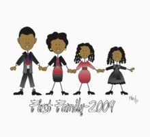 First Family T-shirt by Linda Bassett
