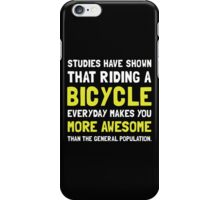 Bicycle More Awesome 2 iPhone Case/Skin