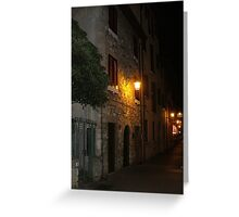 Village Lights Greeting Card