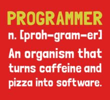Programmer Definition 2 Kids Clothes