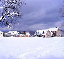 Forman School post snow storm by sdudley