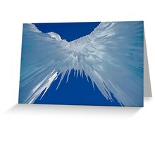 Ice Castle Heaven  Greeting Card