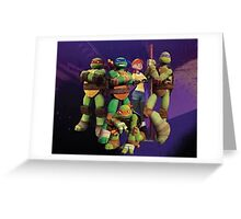 TMNT Greeting Card