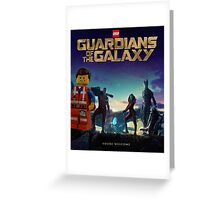 Emmet joins the Guardians  Greeting Card