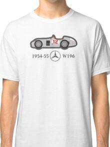 1954-55 Mercedes-Benz W196 Double f1 champion vector Classic T-Shirt