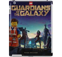 Emmet joins the Guardians  iPad Case/Skin