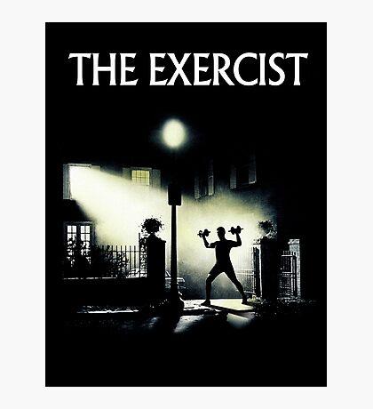 The Exercist Photographic Print
